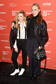 Actors Natasha Lyonne and Chloe Sevigny attend the 'Yoga Hosers' Premiere during the 2016 Sundance Film Festival at Library Center Theater on January...
