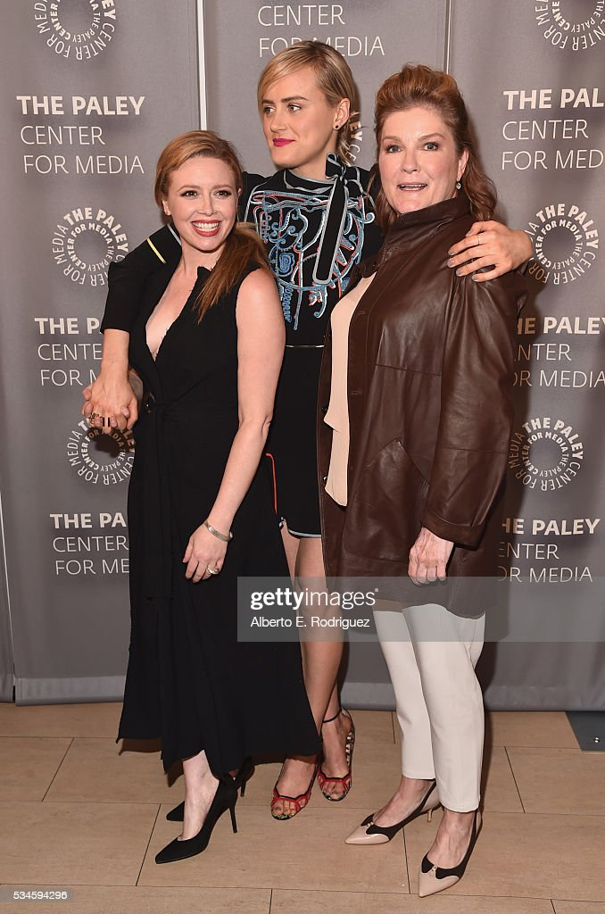 Actors Natasha Lyonne, Taylor Schilling and Kate Mulgrew attend PaleyLive