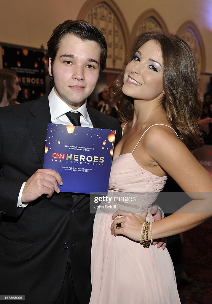 Actors <a gi-track='captionPersonalityLinkClicked' href=/galleries/search?phrase=Nathan+Kress&family=editorial&specificpeople=4408706 ng-click='$event.stopPropagation()'>Nathan Kress</a> and Madisen Hill attend the CNN Heroes: An All Star Tribute at The Shrine Auditorium on December 2, 2012 in Los Angeles, California. 23046_003_JS_0110.JPG