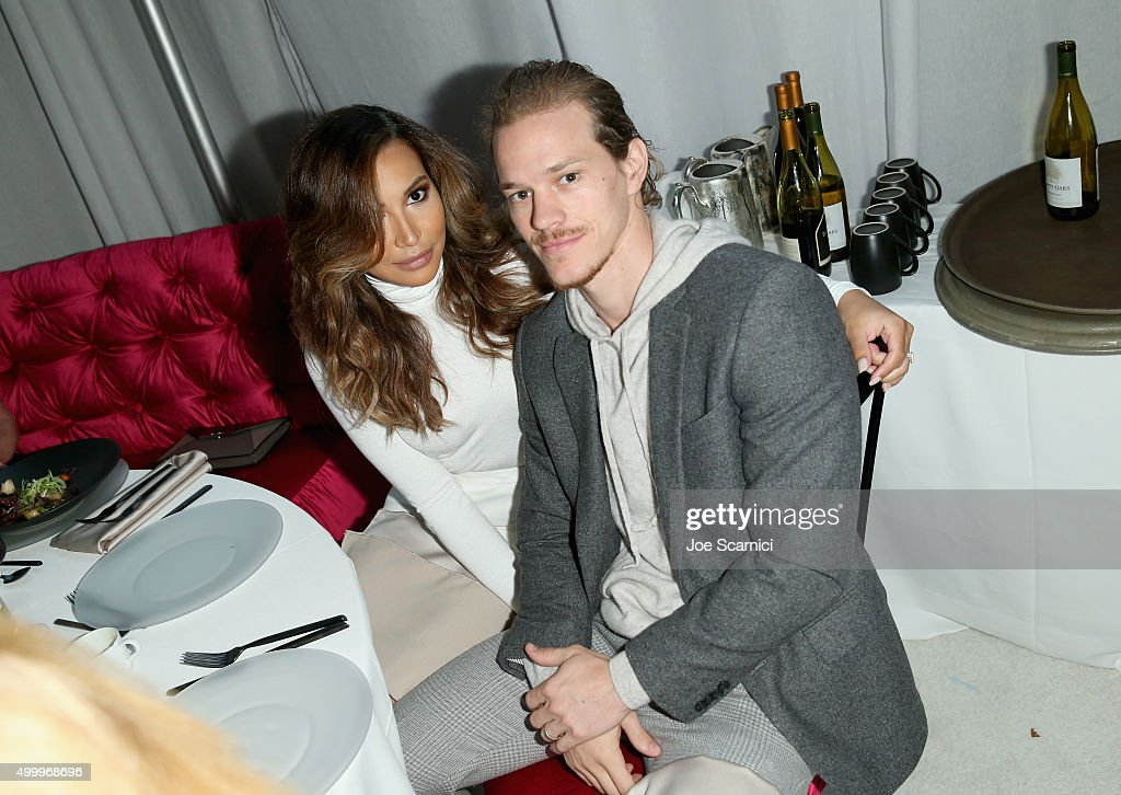 Actors Naya Rivera (L) and Ryan Dorsey attend the March Of Dimes Celebration Of Babies Luncheon honoring Jessica Alba at the Beverly Wilshire Four Seasons Hotel on December 4, 2015 in Beverly Hills, California.