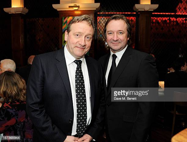 Actors Neil Dudgeon and Neil Pearson working as Maitre d' attend One Night Only at The Ivy featuring 30 stage and screen actors working as staff...