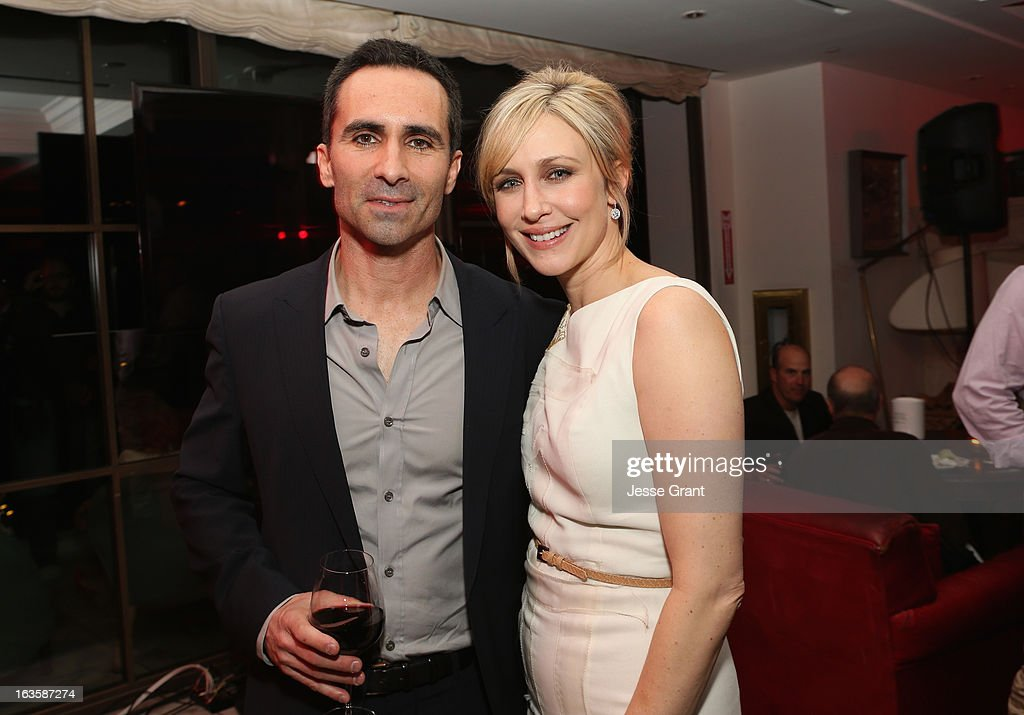 Actors <a gi-track='captionPersonalityLinkClicked' href=/galleries/search?phrase=Nestor+Carbonell&family=editorial&specificpeople=683517 ng-click='$event.stopPropagation()'>Nestor Carbonell</a> and <a gi-track='captionPersonalityLinkClicked' href=/galleries/search?phrase=Vera+Farmiga&family=editorial&specificpeople=227012 ng-click='$event.stopPropagation()'>Vera Farmiga</a> attend A&E's 'Bates Motel' Premiere Party on March 12, 2013 in West Hollywood, California.