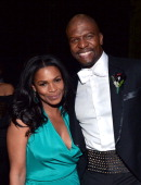 Actors Nia Long and Terry Crews attend the 45th NAACP Image Awards presented by TV One at Pasadena Civic Auditorium on February 22 2014 in Pasadena...