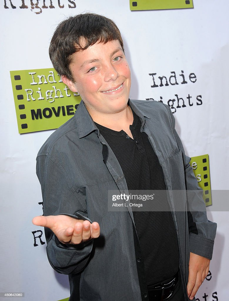 Actors Nick King arrives for the Premiere Of 'The World Famous Kid Detective' held at The Arena Theater on June 14, 2014 in Hollywood, California.