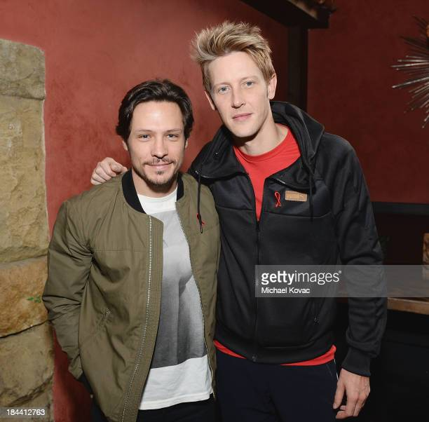 Actors Nick Wechsler and Gabriel Mann attend the 29th Annual AIDS Walk Los Angeles on October 13 2013 in West Hollywood California