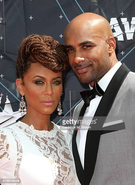 Image result for Nicole Ari Parker & Boris Kodjoe   getty image