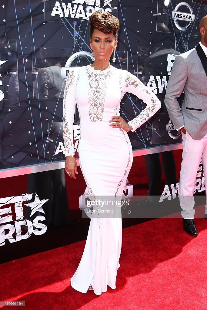 Actors Nicole Ari Parker arrived at the BET Make A Wish Foundation Recipients BET Experience At LA Live Red Carpet arrivals Weekend Events on June 28...