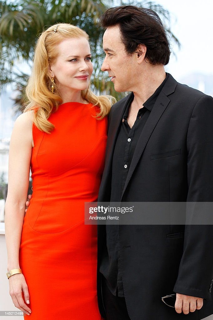 Actors <a gi-track='captionPersonalityLinkClicked' href=/galleries/search?phrase=Nicole+Kidman&family=editorial&specificpeople=156404 ng-click='$event.stopPropagation()'>Nicole Kidman</a> and <a gi-track='captionPersonalityLinkClicked' href=/galleries/search?phrase=John+Cusack&family=editorial&specificpeople=216451 ng-click='$event.stopPropagation()'>John Cusack</a> attend the 'The Paperboy' photocall during the 65th Annual Cannes Film Festival at Palais des Festivals on May 24, 2012 in Cannes, France.