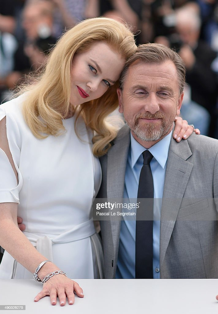Actors Nicole Kidman and Tim Roth attend the 'Grace of Monaco' photocall during the 67th Annual Cannes Film Festival on May 14, 2014 in Cannes, France.