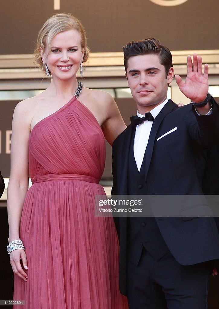 Actors Nicole Kidman and Zac Efron attend the 'The Paperboy' premiere during the 65th Annual Cannes Film Festival at Palais des Festivals on May 24, 2012 in Cannes, France.