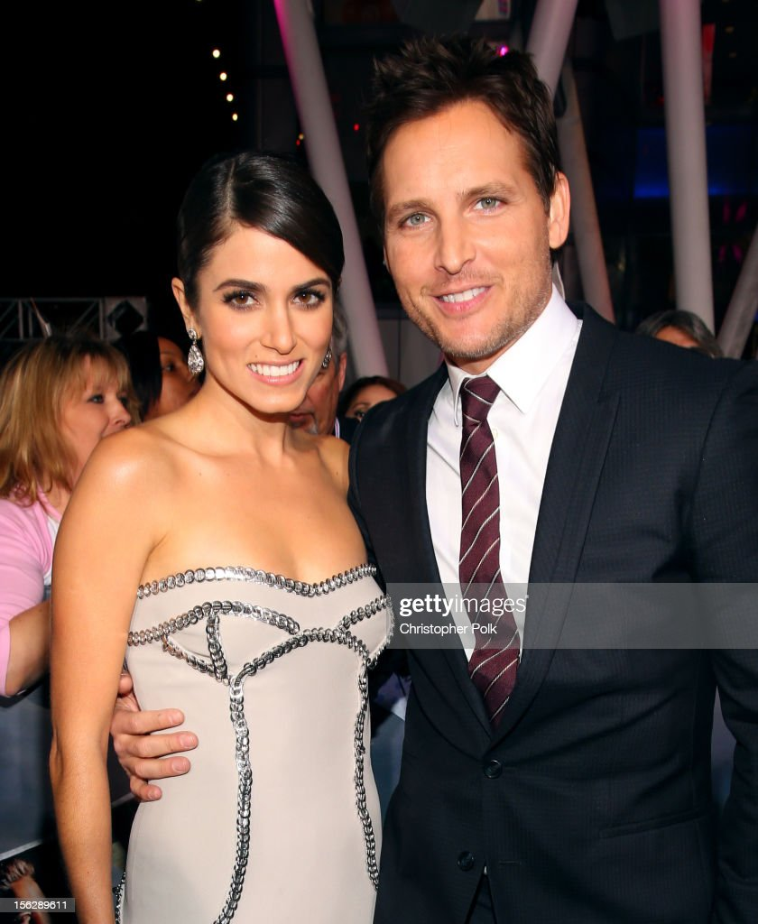 Actors Nikki Reed (L) and Peter Facinelli arrive at the premiere of Summit Entertainment's 'The Twilight Saga: Breaking Dawn - Part 2' at Nokia Theatre L.A. Live on November 12, 2012 in Los Angeles, California.