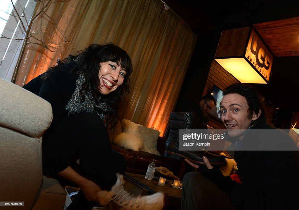 Actors Nina Millin and Brian McGuire attend Day 1 of UGG at Village At The Lift 2013 on January 18, 2013 in Park City, Utah.