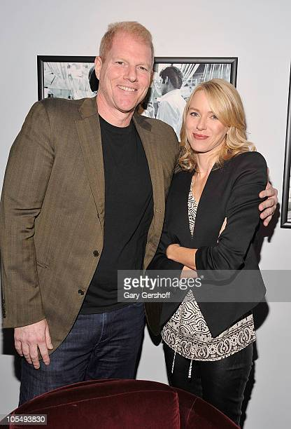 Actors Noah Emmerich and Naomi Watts attend a screening of 'Fair Game' at the DGA Theater on October 15 2010 in New York City