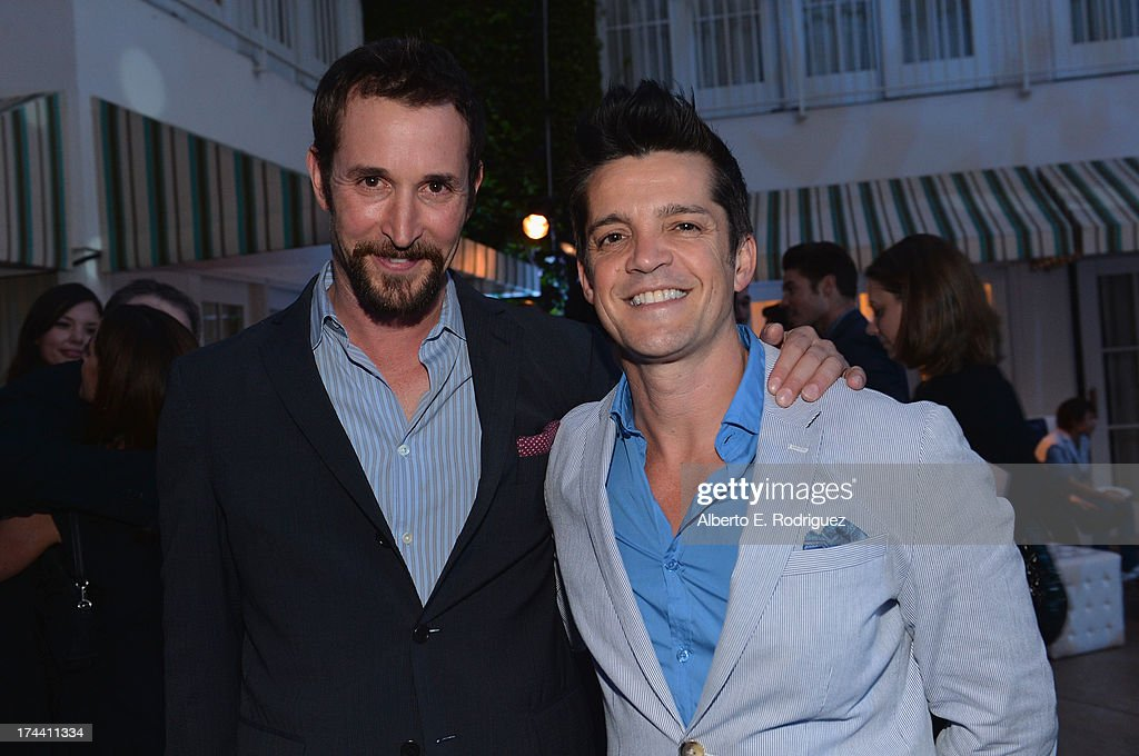 Actors <a gi-track='captionPersonalityLinkClicked' href=/galleries/search?phrase=Noah+Wyle&family=editorial&specificpeople=217263 ng-click='$event.stopPropagation()'>Noah Wyle</a> and Jonathan Del Arco attend TNT's 25th Anniversary Party at The Beverly Hilton Hotel on July 24, 2013 in Beverly Hills, California.