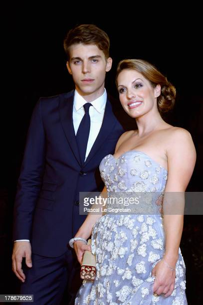 Actors Nolan Gerard Funk and Tenille Houston attend 'The Canyons' Premiere during The 70th Venice International Film Festival at Palazzo Del Cinema...