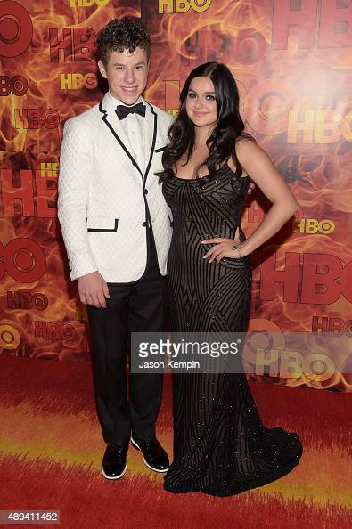 Actors Nolan Gould and Ariel Winter attend HBO's Official 2015 Emmy After Party at The Plaza at the Pacific Design Center on September 20 2015 in Los...