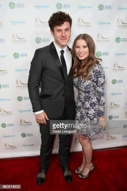 Actors Nolan Gould and Bindi Irwin attend the Steve Irwin Gala Dinner at the SLS Hotel at Beverly Hills on May 13 2017 in Los Angeles California