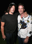 Actors Norman Reedus and Thomas Jane attend Entertainment Weekly's ComicCon Bash held at Float Hard Rock Hotel San Diego on July 23 2016 in San Diego...