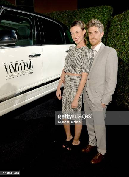 Actors Odette Annable and Dave Annable attend Vanity Fair and FIAT celebration of 'Young Hollywood' during Vanity Fair Campaign Hollywood at No...