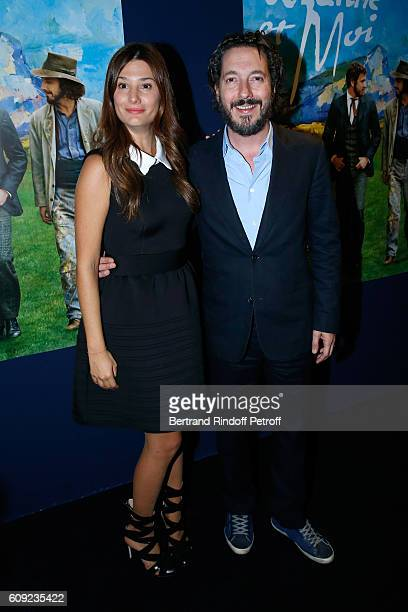 Actors of the movie Alice Pol and Guillaume Gallienne attend the 'Cezanne et Moi' movie Premiere to Benefit 'Claude Pompidou Foundation' Held at UGC...