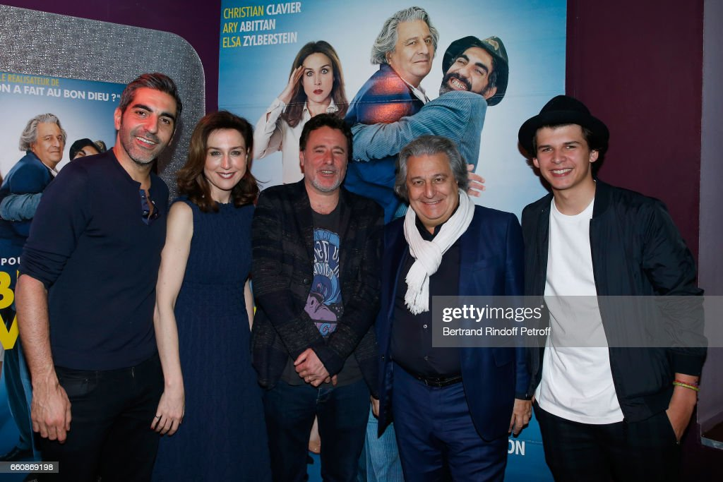 """A Bras Ouverts"" Paris Premiere At Cinema Gaumont Opera"