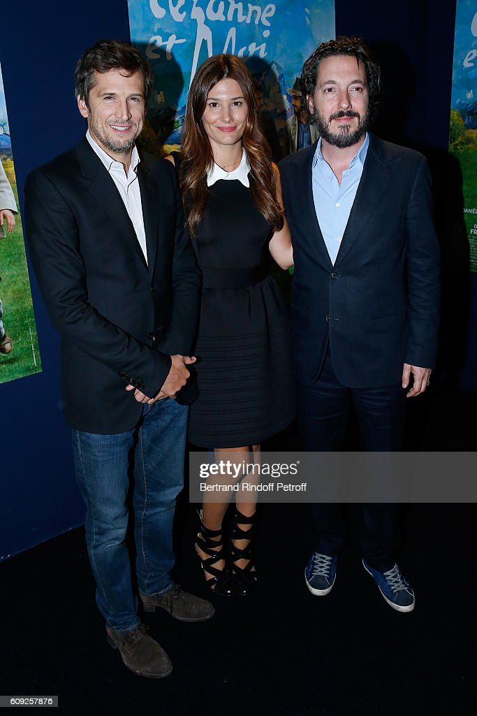 "'Fondation Claude Pompidou' : Charity Party & ""Cezanne et Moi"" Screening At Georges V In Paris"