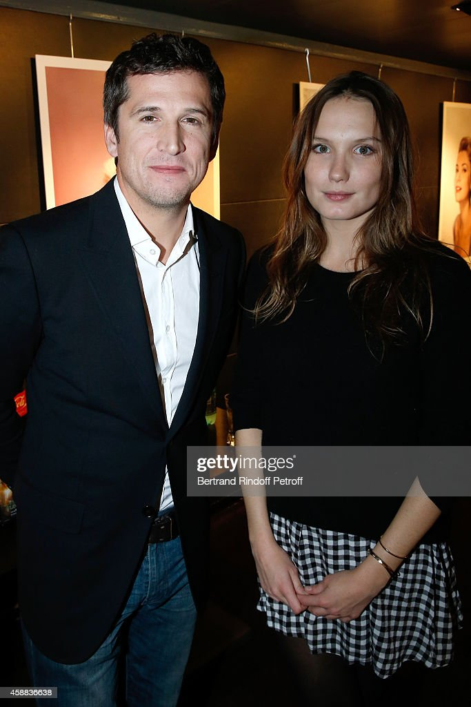 Actors of the movie Guillaume Canet and Ana Girardot attend the 'La prochaine fois, je viserai le coeur' Paris Premiere at UGC Cine Cite Bercy on November 11, 2014 in Paris, France.