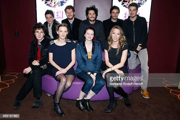 Actors of the movie Hugo Conzelmann Felix de Givry Roman Kolinka brother of Milla Scenarist Sven HanselLove Director Milla HanselLove actresses of...