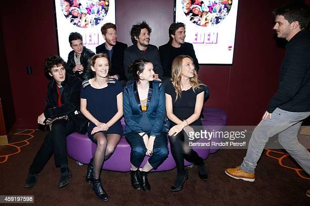 Actors of the movie Hugo Conzelmann Felix de Givry Roman Kolinka Director Milla HanselLove actresses of the movie Pauline Etienne Laura Smet and...