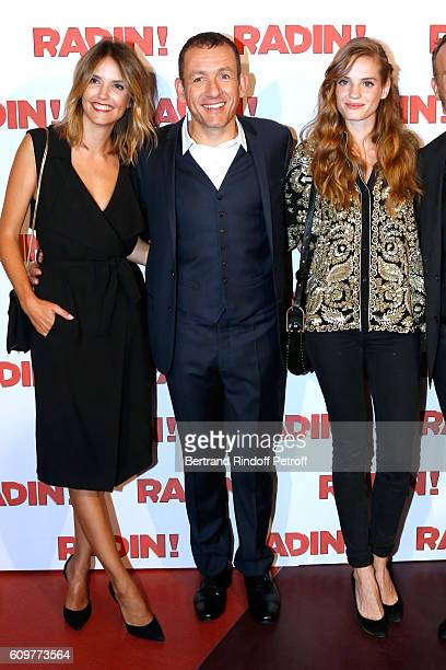 Actors of the movie Laurence Arne Dany Boon and Noemie Schmidt attend the 'Radin' Paris Premiere at Cinema Gaumont Opera on September 22 2016 in...