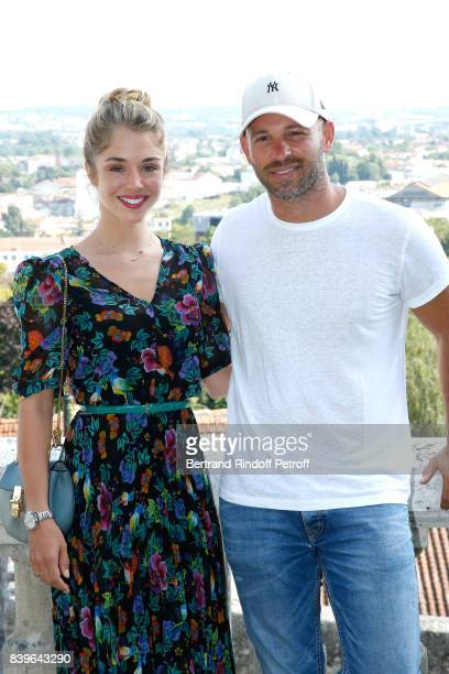 Actors of the movie 'Surface de reparation' Alice Isaaz and Franck Gastambide attend the 10th Angouleme FrenchSpeaking Film Festival Day Five on...
