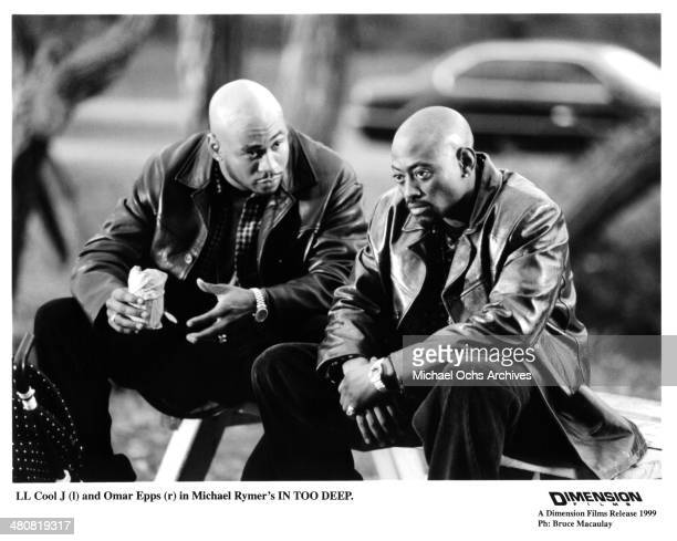 Actors Omar Epps LL Cool J in a scene from the Dimension Films movie 'In Too Deep ' circa 1999