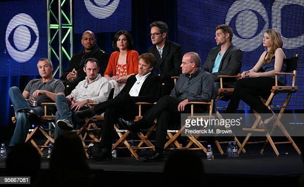 Actors Omar Gooding Lana Parrilla Jeremy Northam Mike Vogel Elisabeth Harnois executive producer Steven Maeda creator/executive producer Jeffrey...