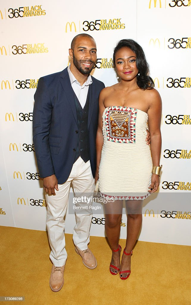 Actors Omari Hardwick and Tatyana Ali attend the 2013 365 Black Awards at the Ernest N. Morial Convention Center on July 6, 2013 in New Orleans, Louisiana.