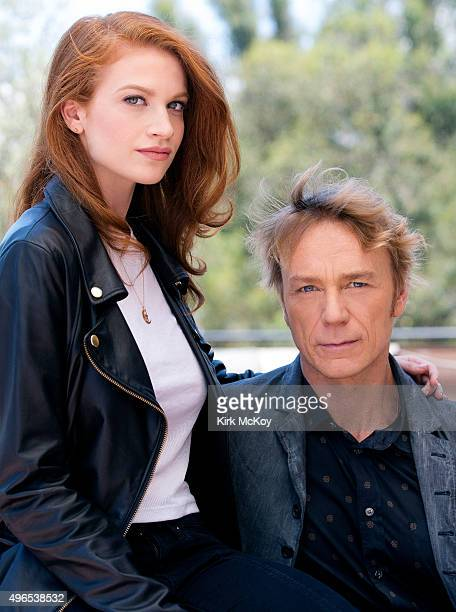 Actors on Starz's 'Flesh and Bone' Sarah Hay and Ben Daniels are photographed for Los Angeles Times on July 30 2015 in Los Angeles California...