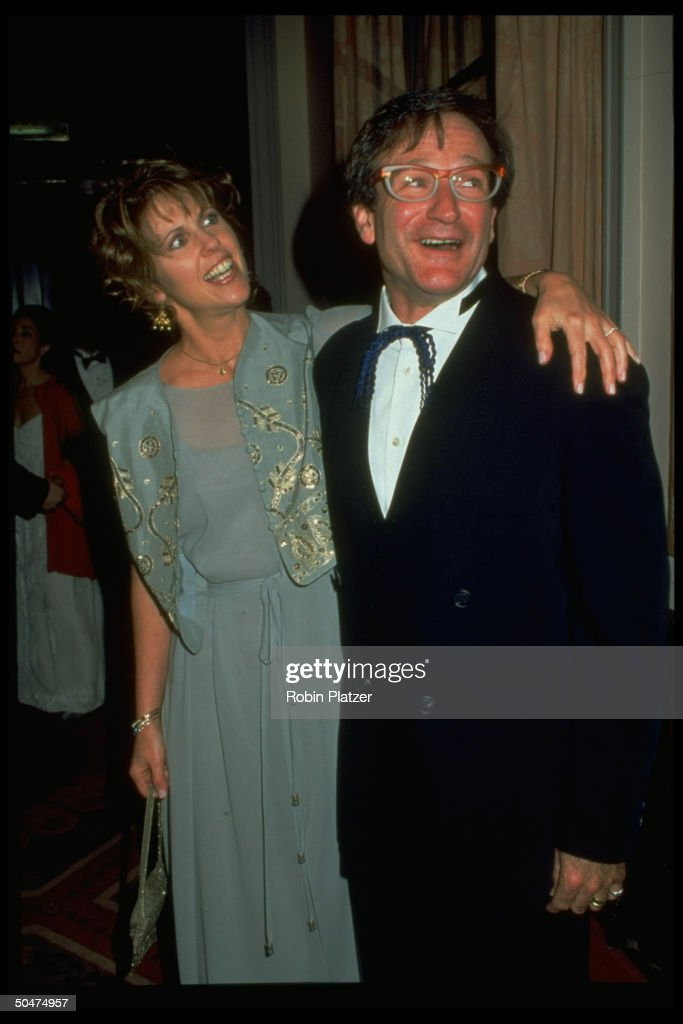Actors Pam Dawber Robin Williams attending tribute to Williams benefiting American Museum of Moving Image