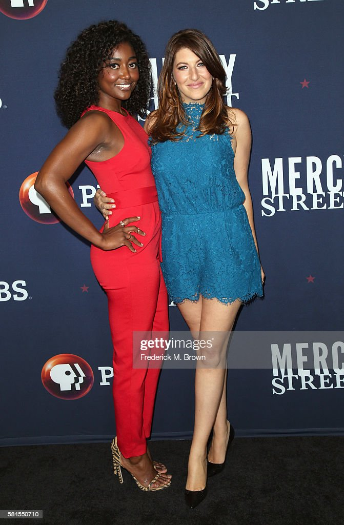 Actors Patina Miller and Tara Summers attend the 'Mercy Street Season 2' panel discussion at the PBS portion of the 2016 Television Critics...