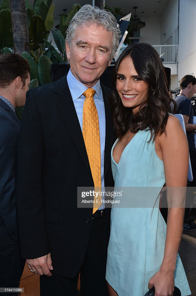 Actors Patrick Duffy and <a gi-track='captionPersonalityLinkClicked' href=/galleries/search?phrase=Jordana+Brewster&family=editorial&specificpeople=207174 ng-click='$event.stopPropagation()'>Jordana Brewster</a> attend TNT's 25th Anniversary Party at The Beverly Hilton Hotel on July 24, 2013 in Beverly Hills, California.