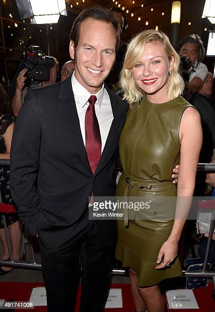 Actors Patrick Wilson and Kirsten Dunst attend the premiere of FX's 'Fargo' Season 2 at ArcLight Cinemas on October 7 2015 in Hollywood California