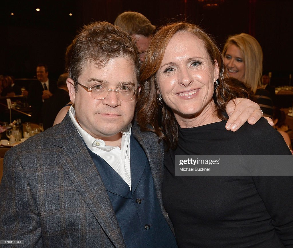 Actors <a gi-track='captionPersonalityLinkClicked' href=/galleries/search?phrase=Patton+Oswalt&family=editorial&specificpeople=637232 ng-click='$event.stopPropagation()'>Patton Oswalt</a> and <a gi-track='captionPersonalityLinkClicked' href=/galleries/search?phrase=Molly+Shannon&family=editorial&specificpeople=213534 ng-click='$event.stopPropagation()'>Molly Shannon</a> attend Broadcast Television Journalists Association's third annual Critics' Choice Television Awards at The Beverly Hilton Hotel on June 10, 2013 in Los Angeles, California.