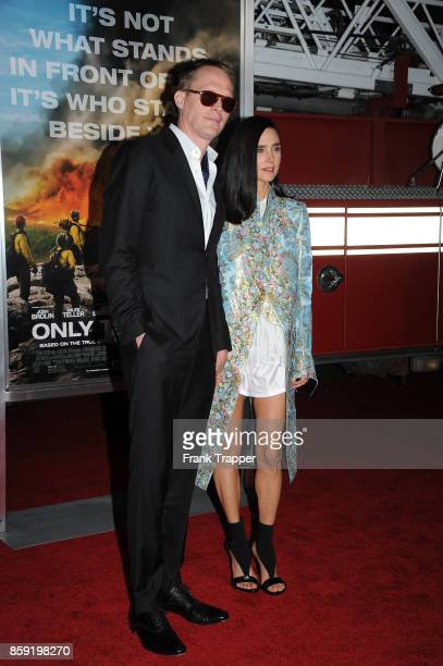 Actors Paul Bettany and Jennifer Connelly attend the premiere of Columbia Pictures' 'Only The Brave' at the Regency Village Theatre on October 8 2017...