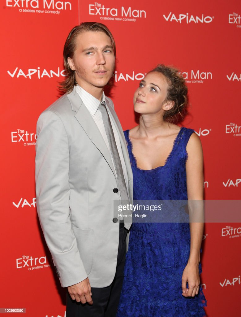 Actors Paul Dano and Zoe Kazan attends the premiere of 'The Extra Man' at the Village East Cinema on July 19 2010 in New York City