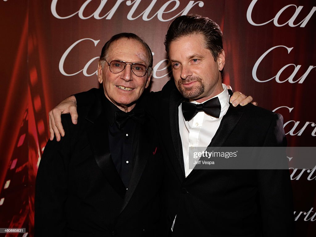 Actors Paul Herman (L) and <a gi-track='captionPersonalityLinkClicked' href=/galleries/search?phrase=Shea+Whigham&family=editorial&specificpeople=660577 ng-click='$event.stopPropagation()'>Shea Whigham</a> arrive at the 25th annual Palm Springs International Film Festival awards gala at Palm Springs Convention Center on January 4, 2014 in Palm Springs, California.