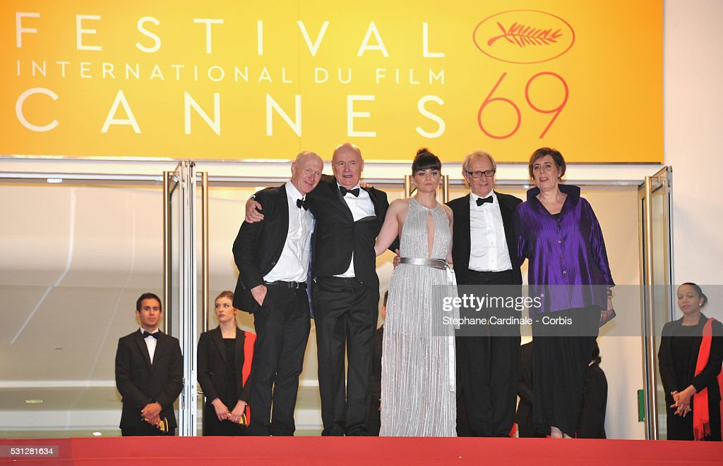 """I, Daniel Blake   - Red Carpet Arrivals - The 69th Annual Cannes Film Festival"