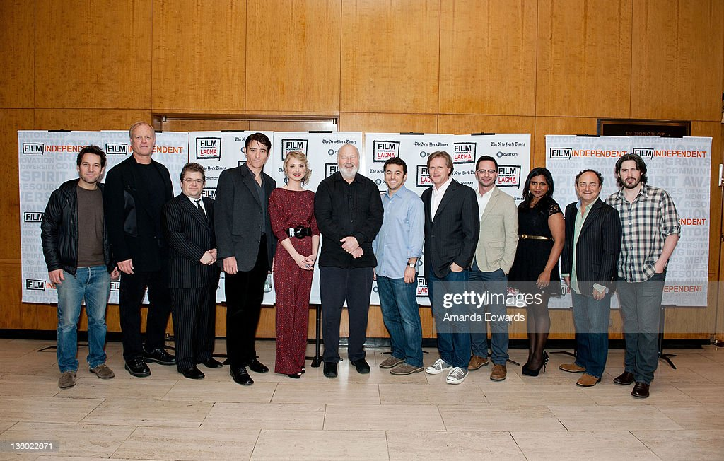 Actors Paul Rudd Bill Fagerbakke Patton Oswalt Goran Visnjic Collette Wolfe Rob Reiner Fred Savage Cary Elwes Nick Kroll Mindy Kaling Kevin Pollak...