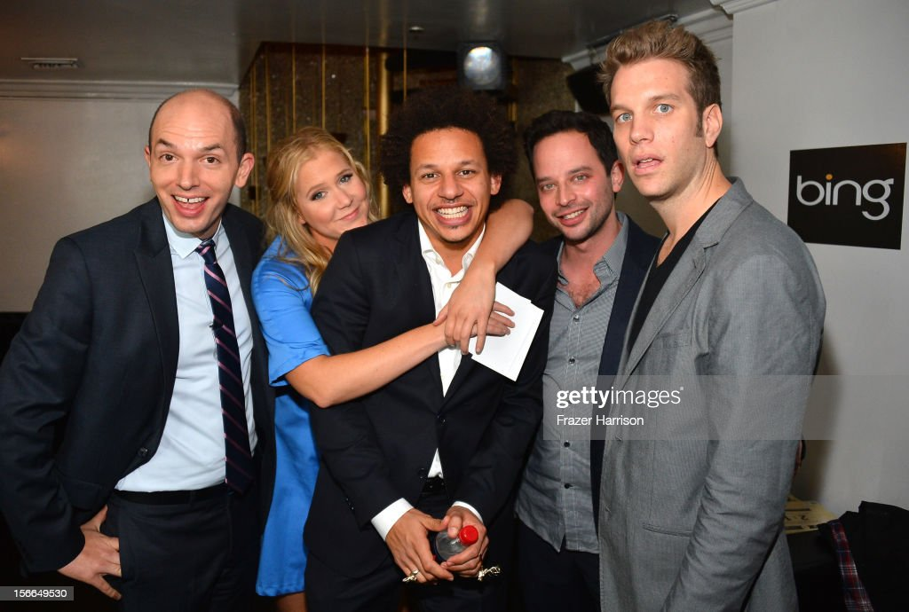Actors Paul Scheer, Amy Schumer, Eric Andre, Nick Kroll and Anthony Jeselnik attend Variety's 3rd annual Power of Comedy event presented by Bing benefiting the Noreen Fraser Foundation held at Avalon on November 17, 2012 in Hollywood, California.