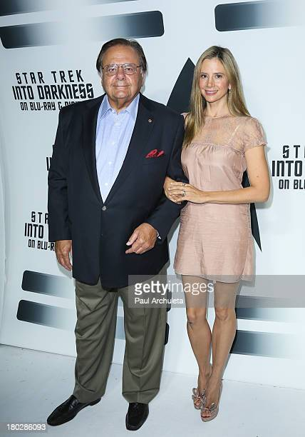 Actors Paul Sorvino and Mira Sorvino attend the 'Star Trek Into Darkness' Bluray/DVD release party at the California Science Center on September 10...