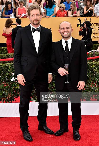 Actors Paul Sparks and Anatol Yusef attend TNT's 21st Annual Screen Actors Guild Awards at The Shrine Auditorium on January 25 2015 in Los Angeles...