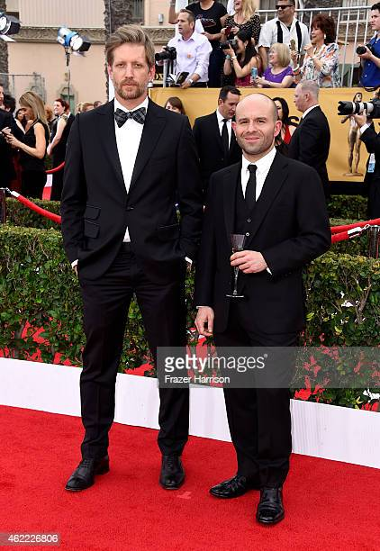 Actors Paul Sparks and Anatol Yusef attends the 21st Annual Screen Actors Guild Awards at The Shrine Auditorium on January 25 2015 in Los Angeles...