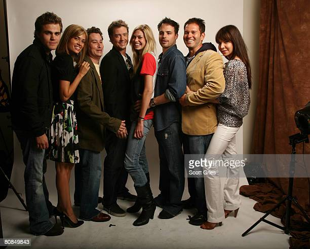 Actors Paul Wesley Torrey DeVitto Hal B Klein Jason London Maitland McConnell Al Santos director Jeff Fisher and actress Cyia Batten of the film...